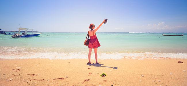 Het strand is goed voor je gezondheid!