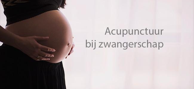 Acupunctuur bij zwangerschap