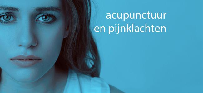 Acupunctuur en pijnklachten