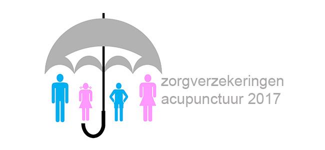Premies zorgverzekeringen voor acupunctuur bekend