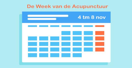 Week van de Acupunctuur 2019