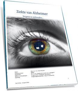 Acupunctuur ziekte van alzheimer